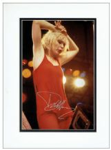 Debbie Harry Blondie Autograph Signed Photo